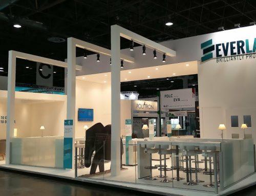 Everlam Glasstec 2018 – Standbouw
