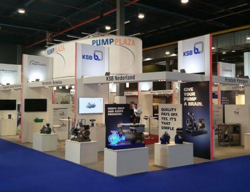 Pump Plaza op de Industrial Processing – Standbouw